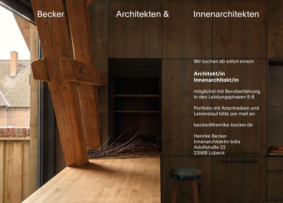Mai 21 – Becker Architekten & Innenarchitekten